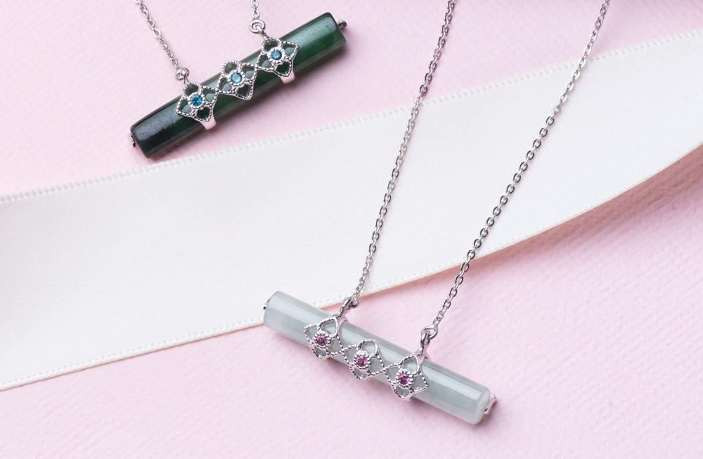 Choo Yilin Peranakan Trio Necklace