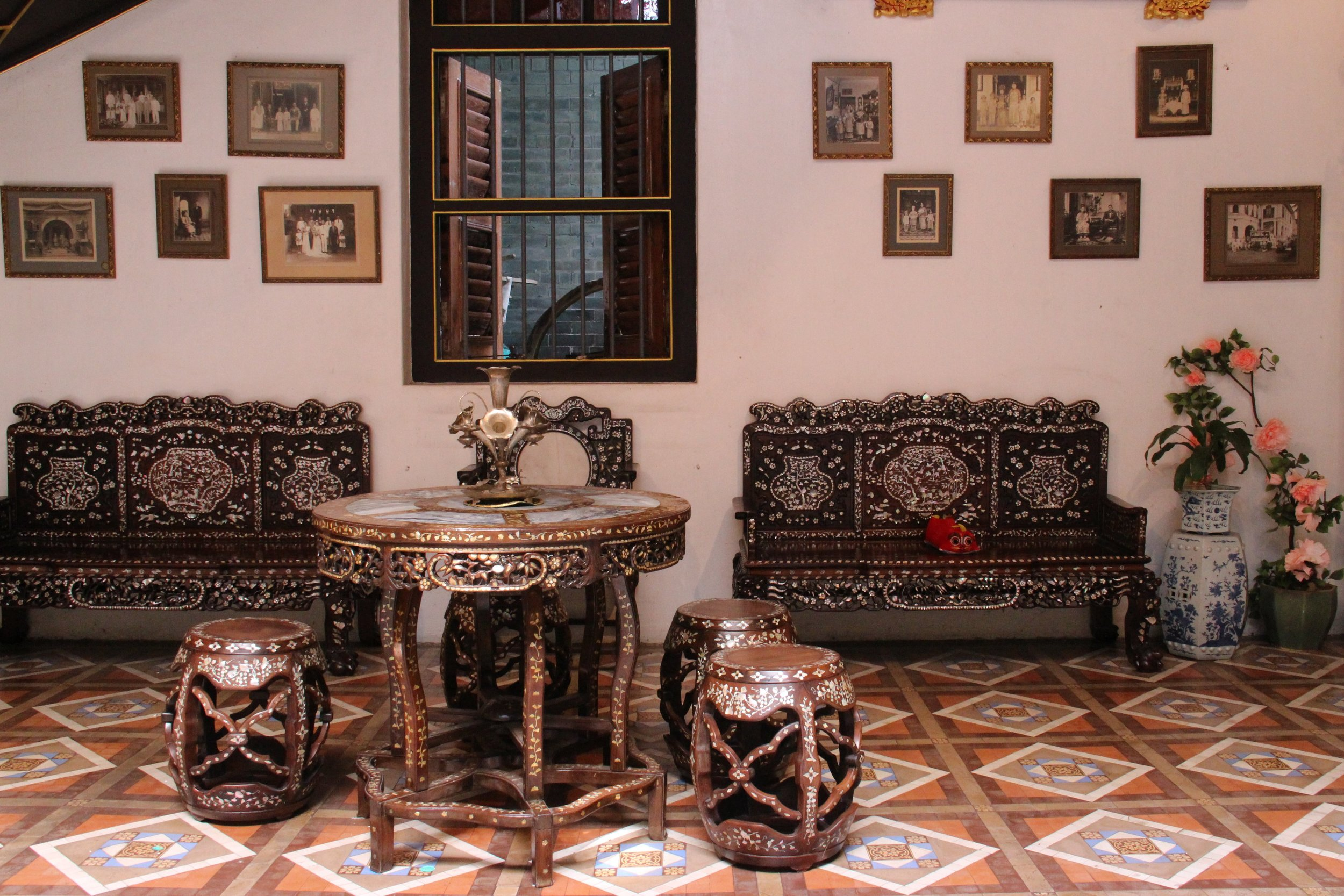 The Insides of a Peranakan Residence.