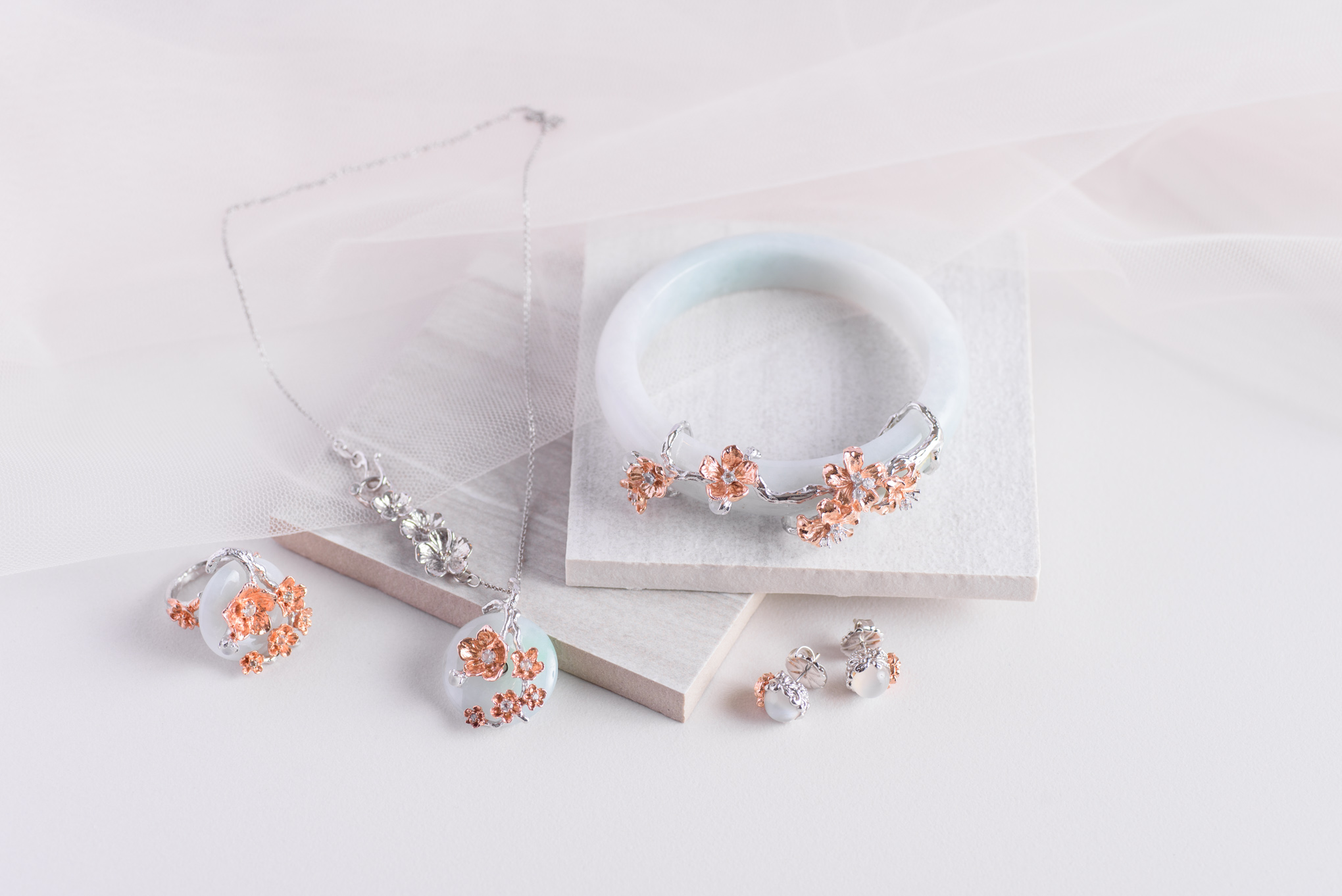 A collection that is a marvel of carefully chosen array of glittering gems and tasteful luxuriance.