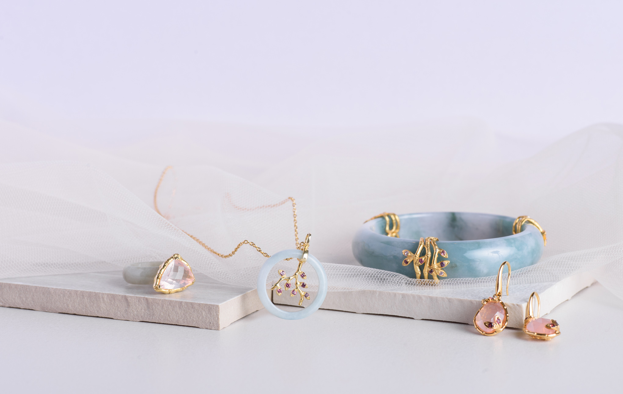 The Bamboo collection that triumphantly exudes both feminine and minimalist charms.