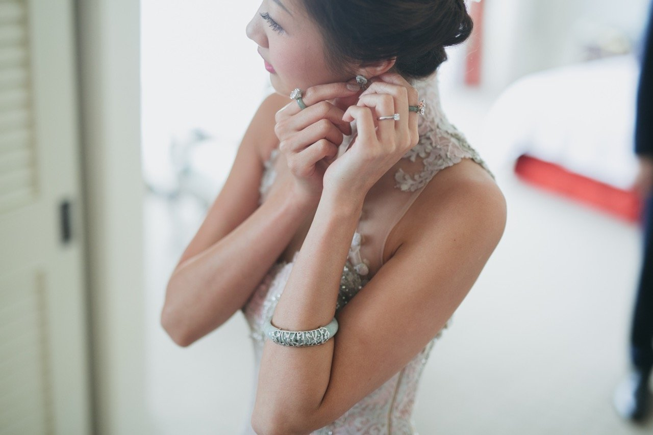 The Choo Yilin bride that exudes sophistication and beauty.
