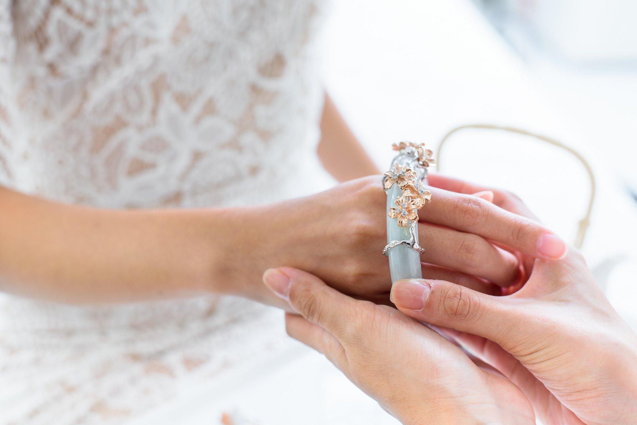 Si Dian Jin Bridal Jewellery Choo Yilin Bangle