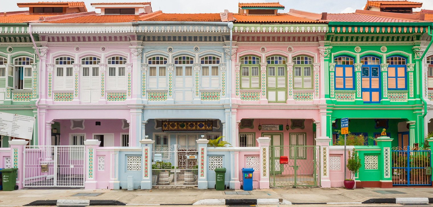 Joo Chiat   Singapore (image credit above: the lotus  anctuary )