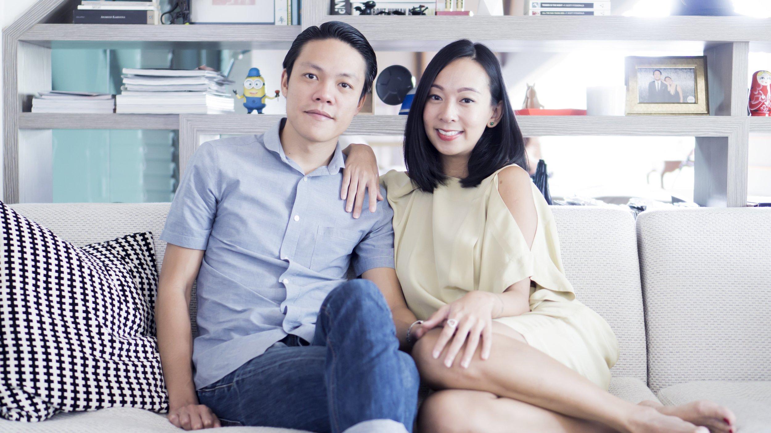 Derek and Charmaine,Choo Yilin Bespoke Clients