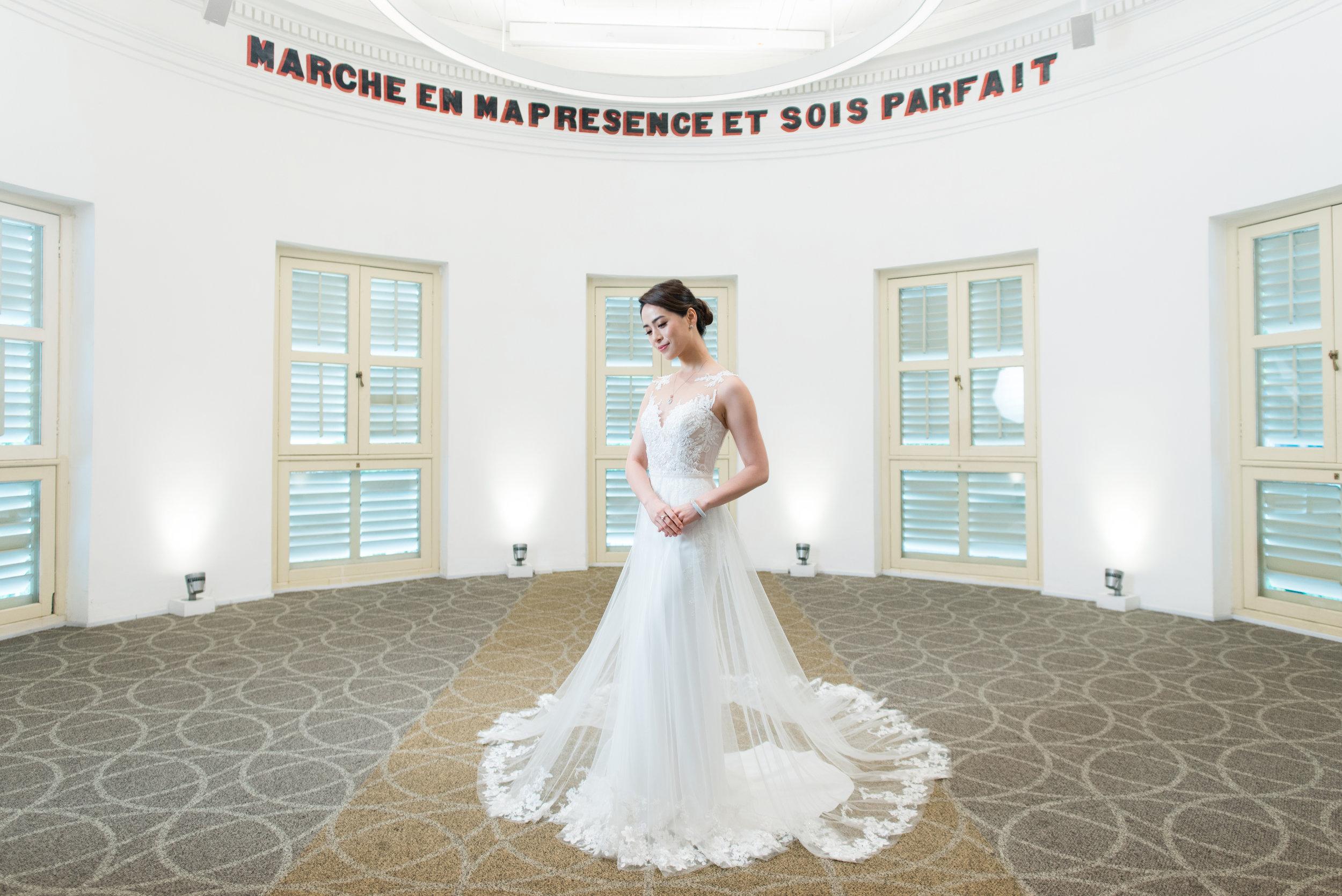 Choo Yilin x  Ethereal by Watabe Wedding at  Alcove at Caldwell House .