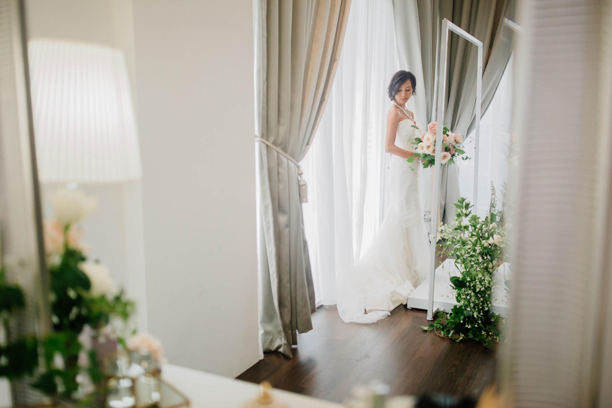 Behind the scenes of the Choo Yilin X Melissa Celestine Koh Wedding Styled Shoot
