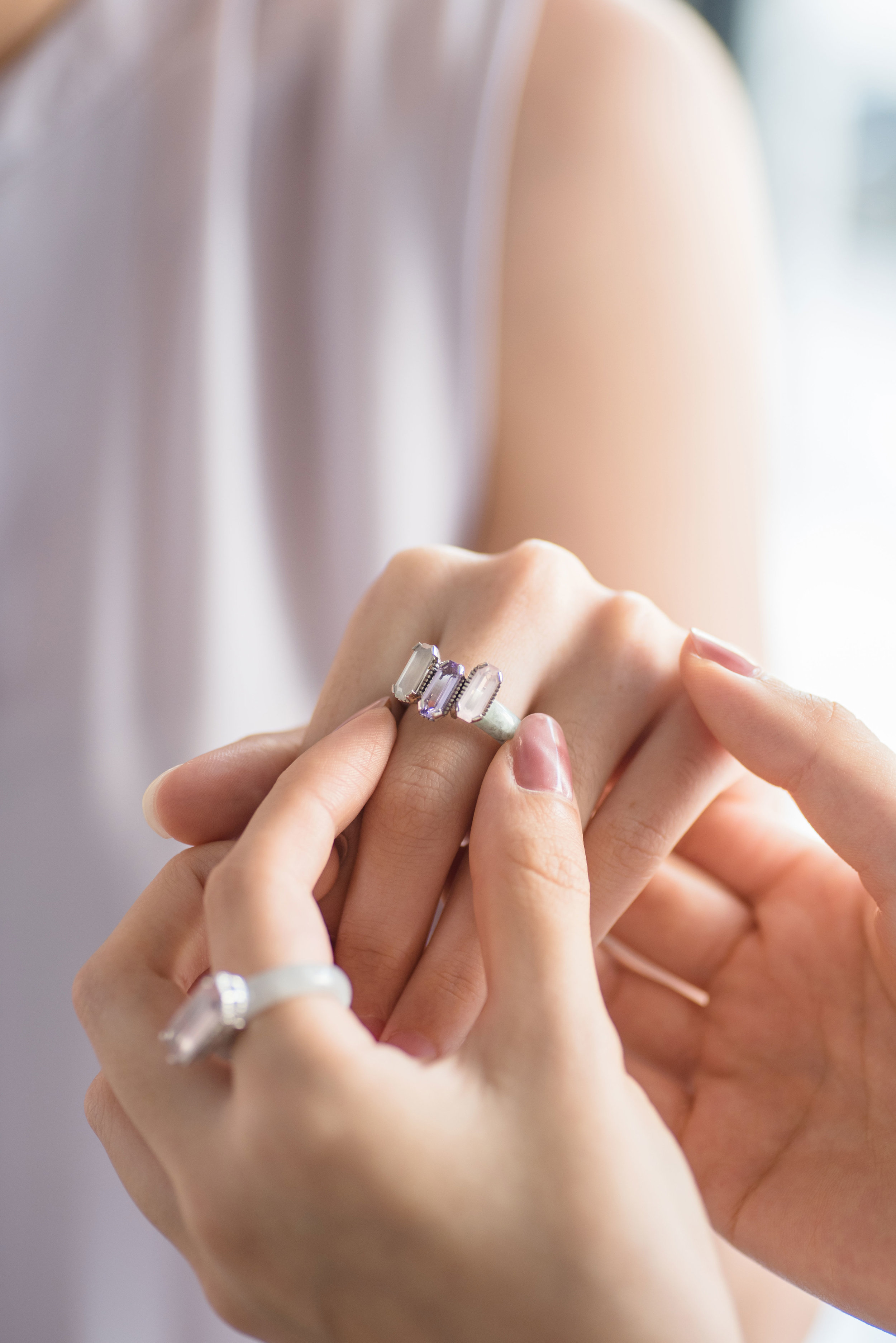 Choo Yilin Shophouse Jade Trinity Ring