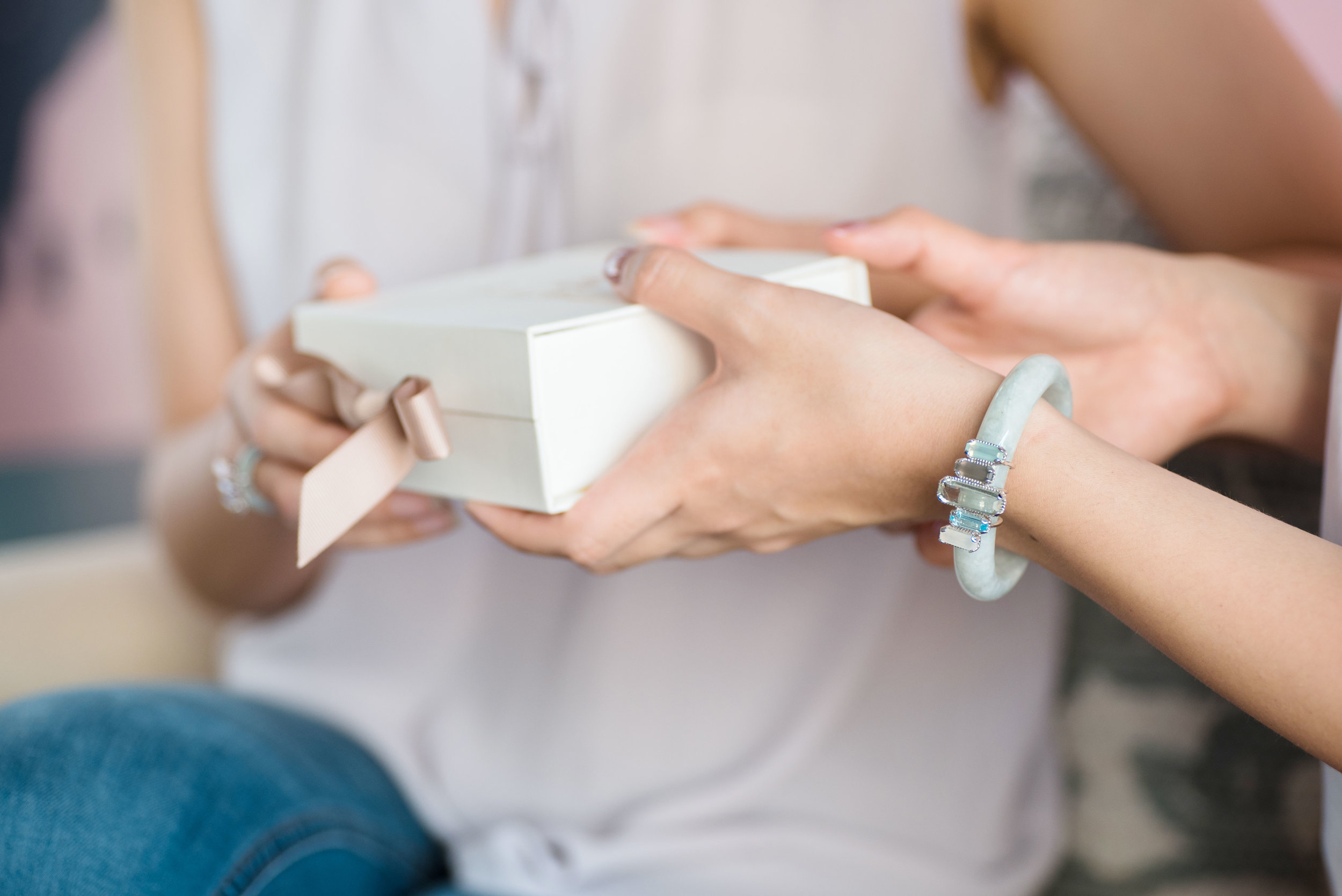 Choo Yilin Shophouse Jade Bangle (Heritage inspired jewellery for your wedding and special moments)