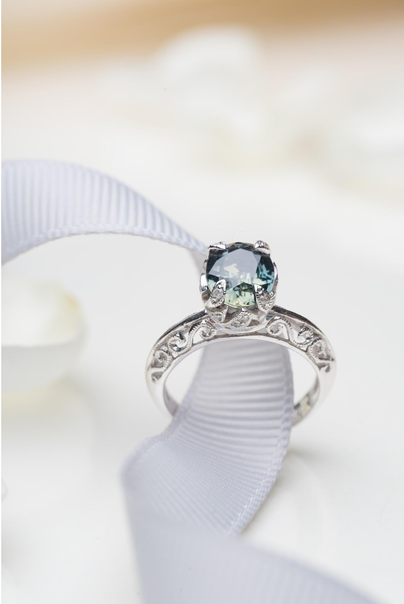 Choo Yilin Engagement Ring