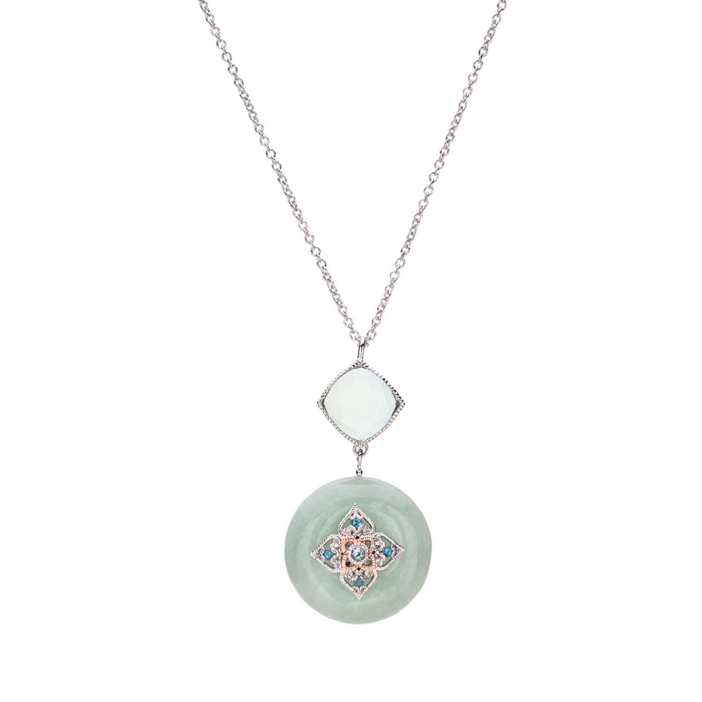 Choo Yilin Peranakan Flower Jade Necklace