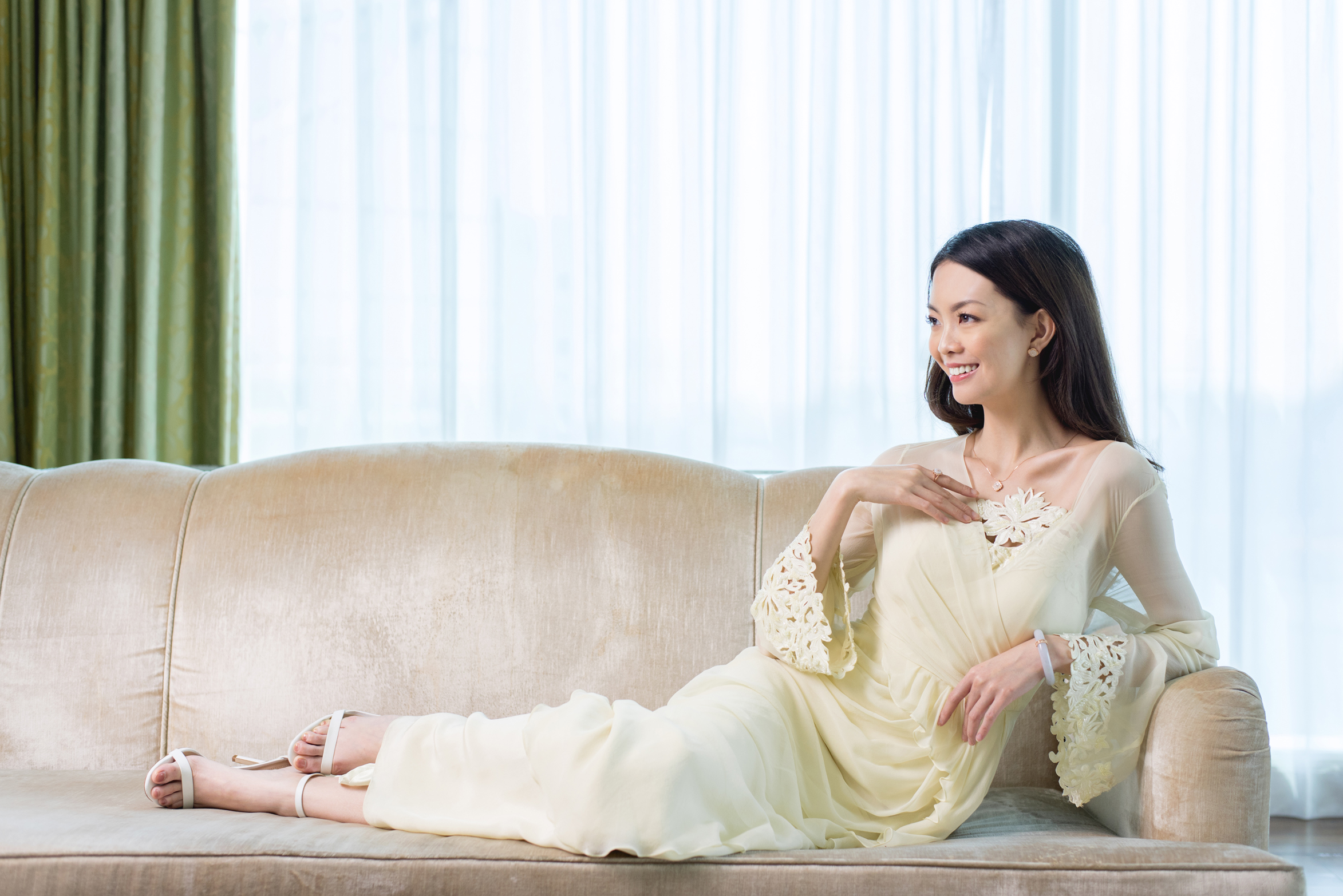 Choo Yilin Warisan Kebaya Collection - St Regis Singapore - Nurita Harith - En Pointe Co - Ice Jade - 18kt gold - rose gold - CYL - Si Dian Jin - Diamonds - Filigree