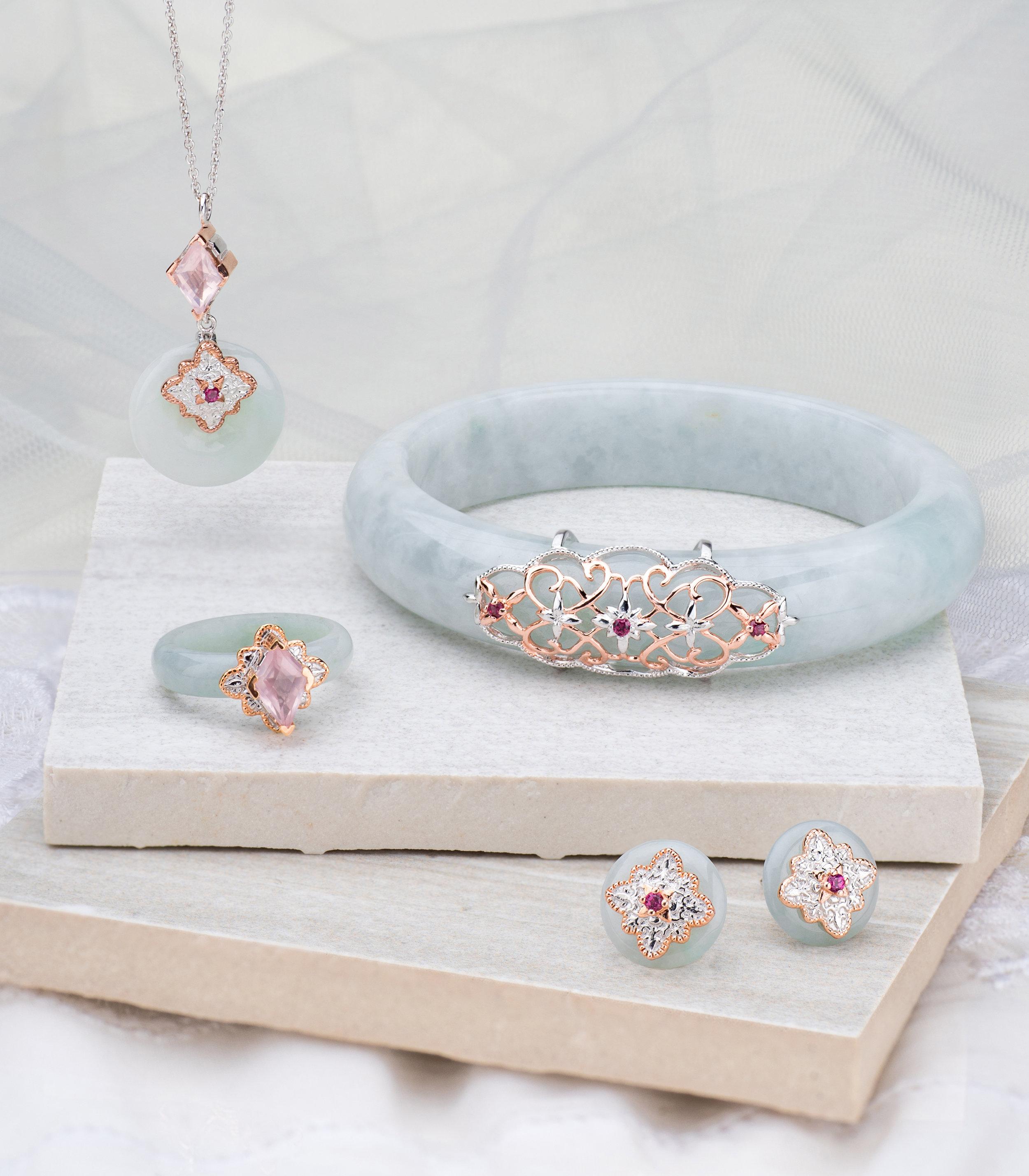 The Choo Yilin Kebaya Jade Si Dian Jin Series