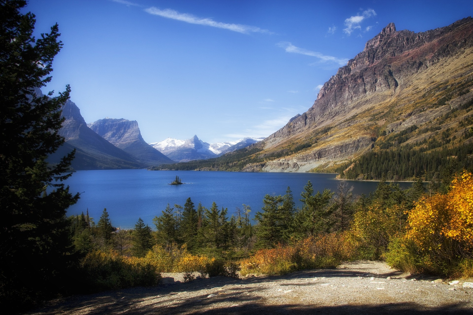 Going to the Sun Road -