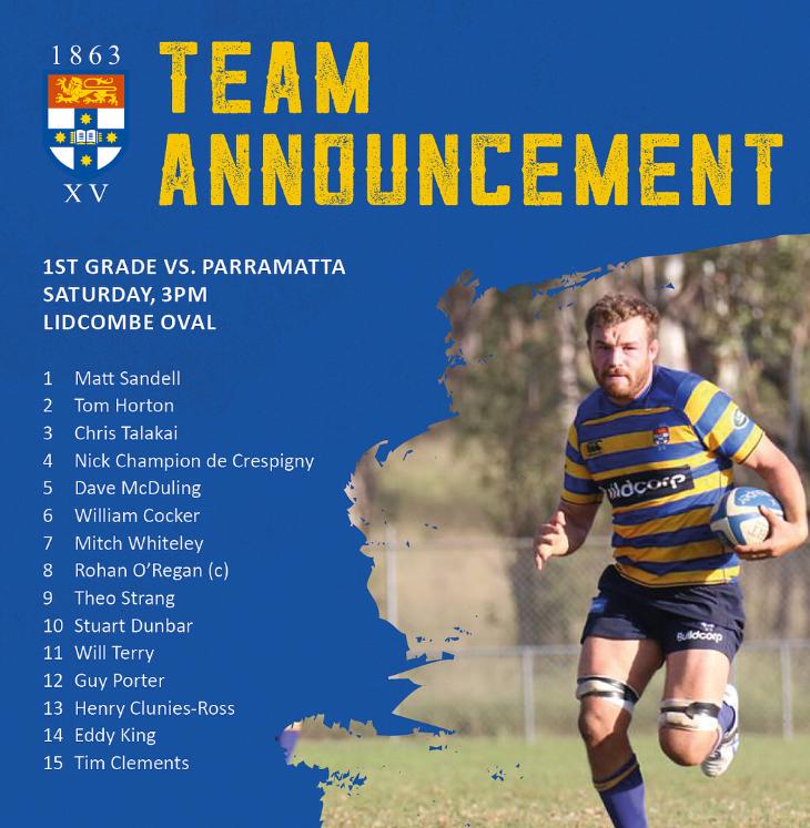 Parramatta v Sydney University  Lidcombe Oval, Shute Shield, 14/07/18.