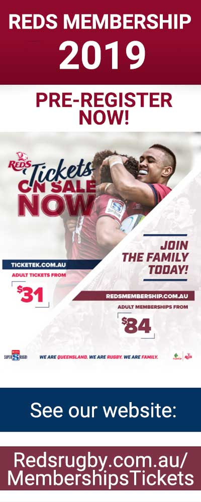 Membership Offer  St George Qld Reds v Sunwolves, Suncorp Stadium, 13/07/18.