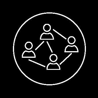 partizipative - Komplexe Lösungen entstehen nicht durch die Arbeit Einzelner im stillen Kämmerchen. Siloübergreifende, moderierte Prozesse sind der Schlüssel zum gemeinsamen Erfolg.