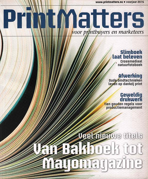 PrintMatters - Spring 2015