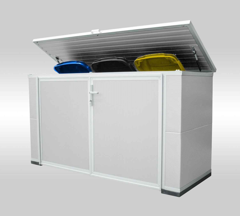 Box für 4 Mülltonnen - Maße Korpus (BxTxH):3,00m x 0,90m x 1,20mAb 3.399,00 €