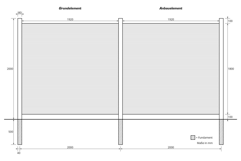 Standardmaße (B x H) - 2,00 m x 1,80 m ab 499,00 €2,50 m x 1,80 m ab 549,00 €3,00 m x 1,80 m ab 599,00 €