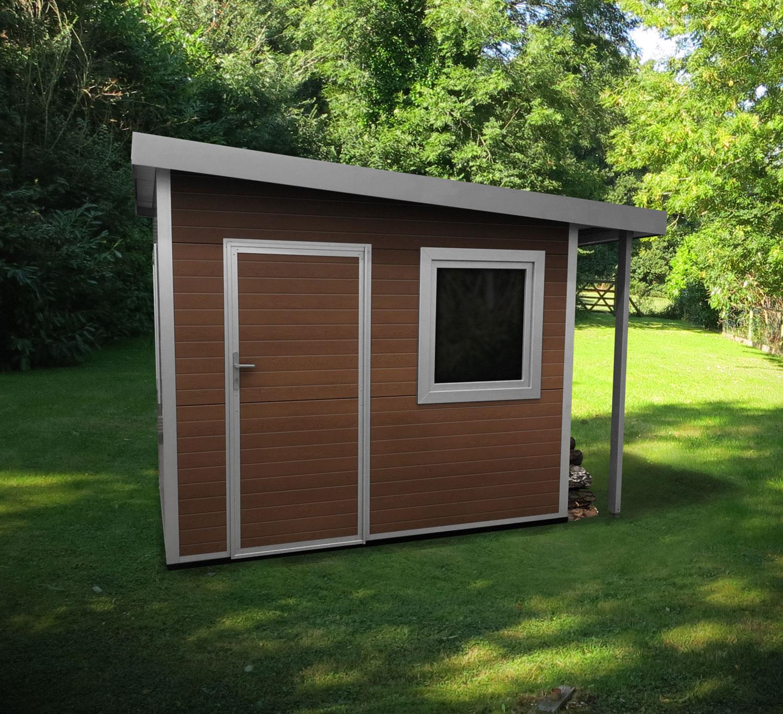 Gartenhaus - 3,00 m x 2,00 m Grundfläche, 2,40 m lichte HöheAnbau: 0,5 m tief (optional)Ab 5.995,00 €
