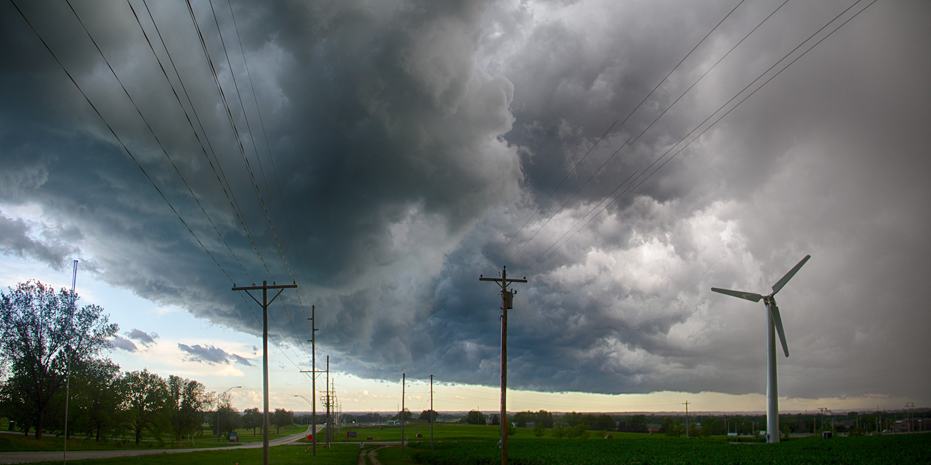 The bulk of the sky replacements used this photo I took of a storm over my hometown of Norfolk, NE.