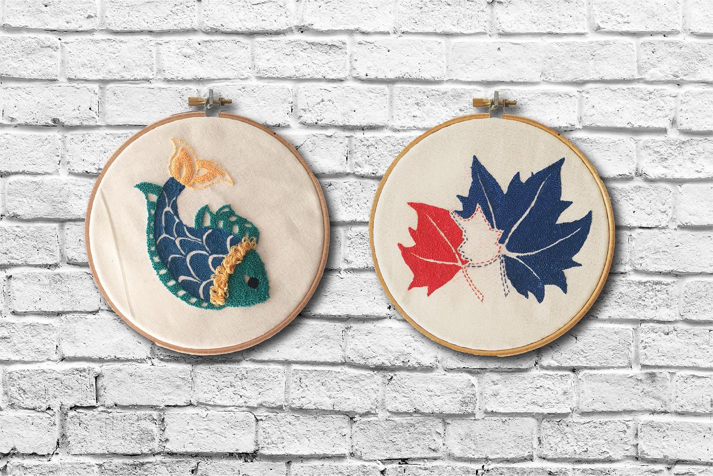 BORDADO | Embroidery on Cotton