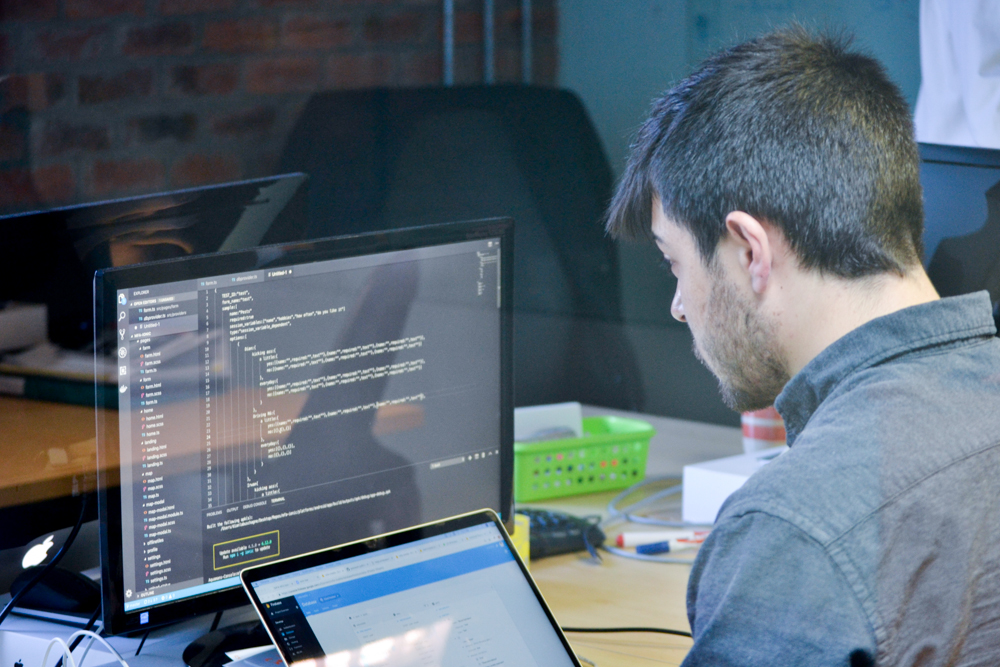 Full stack development experience - You will form part a product team and will be contributing through back end, front end, database management and devops.