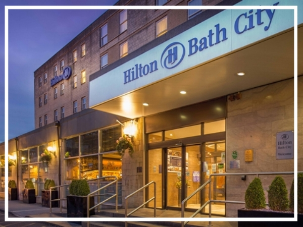 Hilton Bath City - City Centre HotelSuperbly located in the heart of Bath, the Hilton Bath City Hotel is a great base for exploring the city. Offering meeting rooms that can accommodate up to 200 people, the hotel is also a perfect starting location for one of our top treasure hunts.