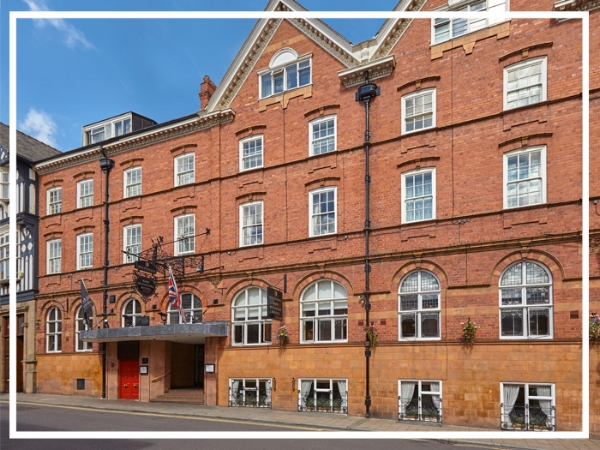 Macdonald New Blossoms Hotel - 4* City Centre HotelThe Macdonald New Blossoms Hotel is one of the oldest hotels in Chester. First opened in 1650, it perfectly blends period charm with modern luxury. With well-equipped function rooms and individually styled bedrooms; it's a great choice for a team build in Chester.
