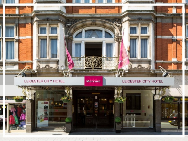 Mercure Leicester The Grand Hotel - 4* HotelJust minutes from Leicester's Cultural Quarter, Mercure Leicester The Grand Hotel is a beautiful Victorian building oozing charm and elegance. It's 104 rooms are stylish and modern whilst it's 10 meeting rooms are both well equipped and flexible.