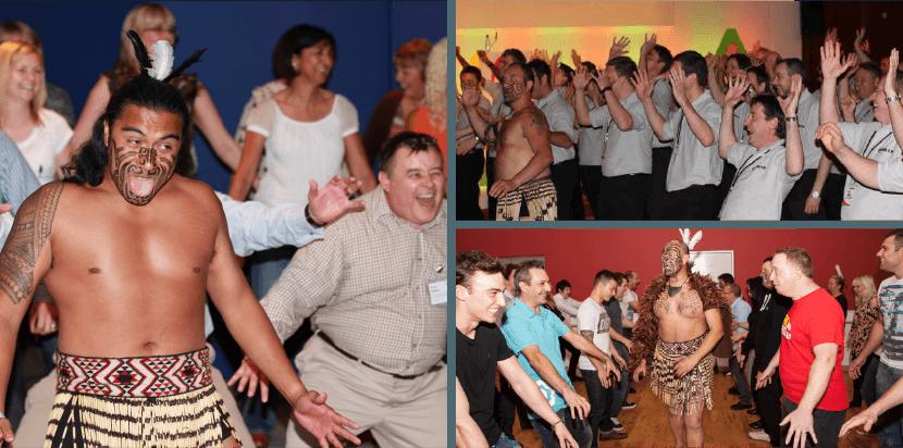 New Zealand Haka Team Building Event Photos