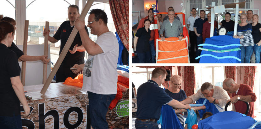 Monte Carlo or Bust Team Building Event Photos