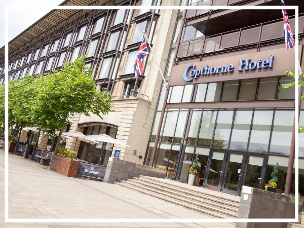 Copthorne Hotel Newcastle - 4* City Centre HotelThe Copthorne Hotel Newcastle is located on the cosmopolitan Quayside, in Newcastle city centre. The venue is ideal for our city based adventures and indoor events for guests wanting to remain central.