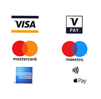 WE CAN NOW TAKE DEBIT, CREDIT AND APPLE PAY PAYMENTS AS WELL AS PAYPAL