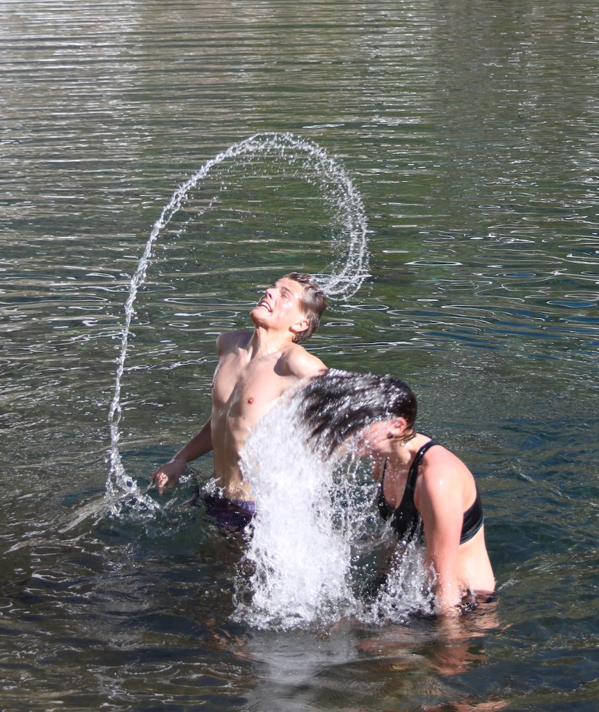 Kjekke aktivitetar i Storevatnet