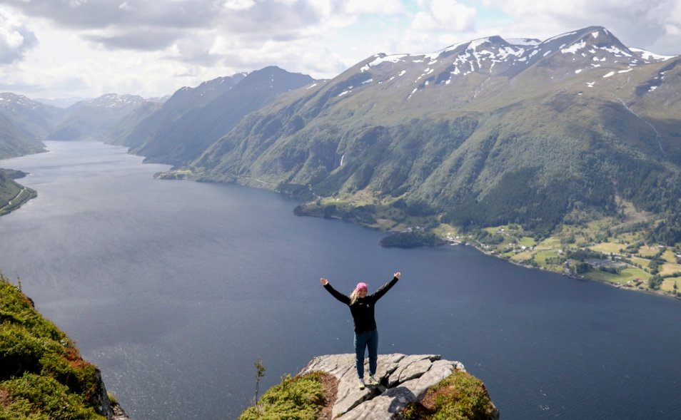 Galten med Dalsfjorden. Foto: Martin Hauge-Nilsen