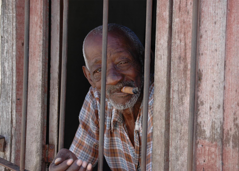 Old man, Cuba