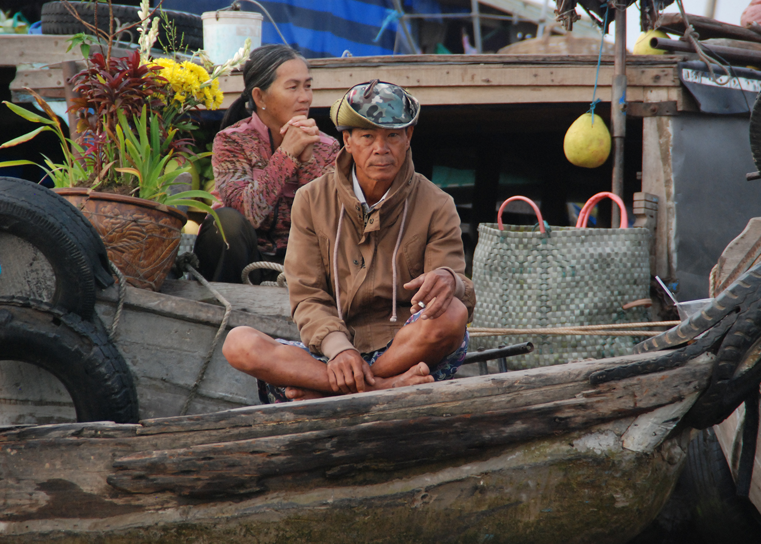 Can Tho - floating market - Vietnam