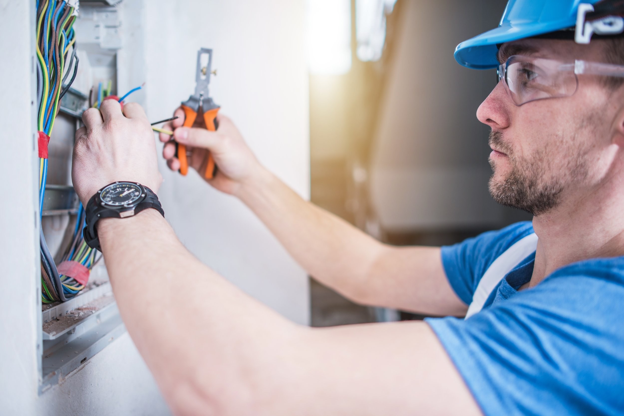 """Our belief has always been,  """"Solutions for problems, not just Band-Aids for symptoms.""""  Our team of knowledgeable experts will repair any electrical issue you bring us and can work with you on upgrading the electrical system in your home. Our commitment to customer care and our team's attention to detail make us stand out from our competitors. Our entire team of electricians are fully licensed and insured—something to confirm when hiring any electrician, no matter how small the job."""