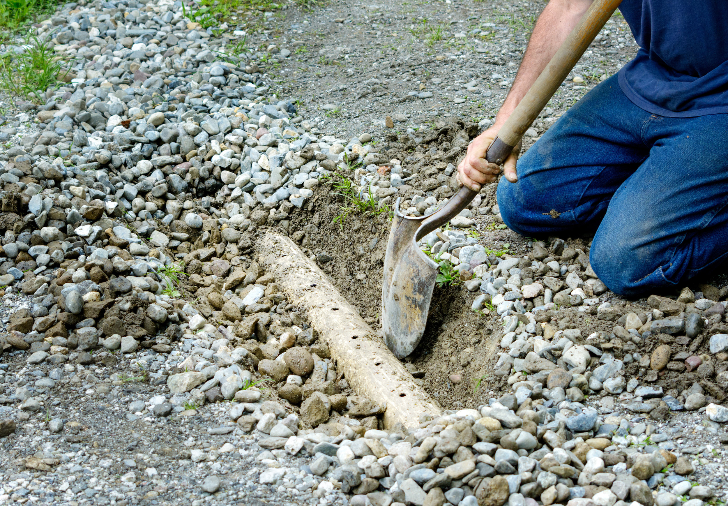 - If your property has a tendency to flood then consider having a French drain installed.