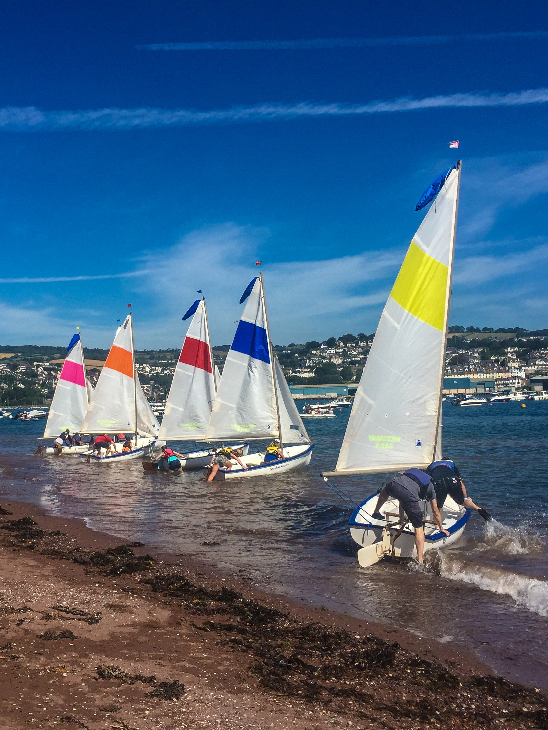 Sailing  - There's a few different sailing races during the week. The Jolly Boat Challenge, Amory Cup are raced in competitors own boats. Entry forms are available from David Bayliss 07831 287887. The races usually happen on the first and last Sunday of Regatta week. The results from two days racing will be combined to give the overall winners.The Otter sailing takes place over two mornings or afternoons (tide dependent) in our own fleet of six Otter sailing dinghies. Boats are allocated for each race.