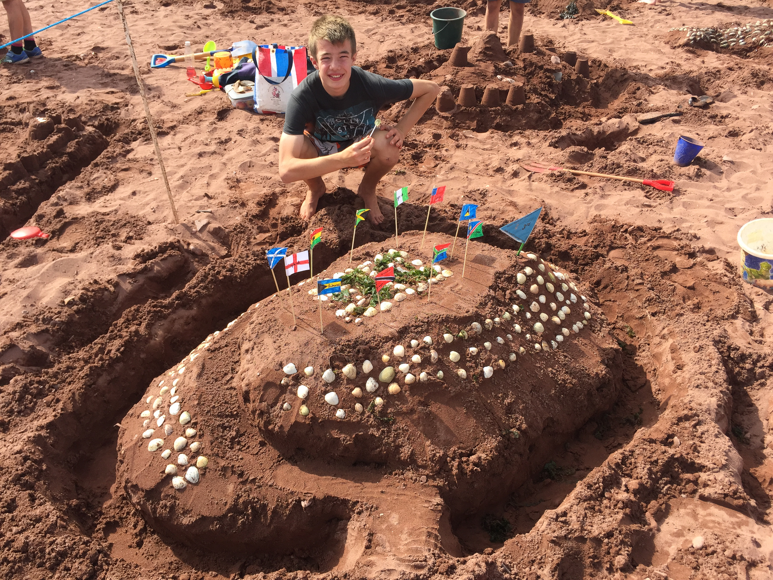 Sandcastle competitions - Categories for under fives, five to seven, eight to ten, eleven to fifteen and for adults. Some of the creations people come up with are incredibly imaginative and creative. Just turn up on the beach with whatever you need to get building!