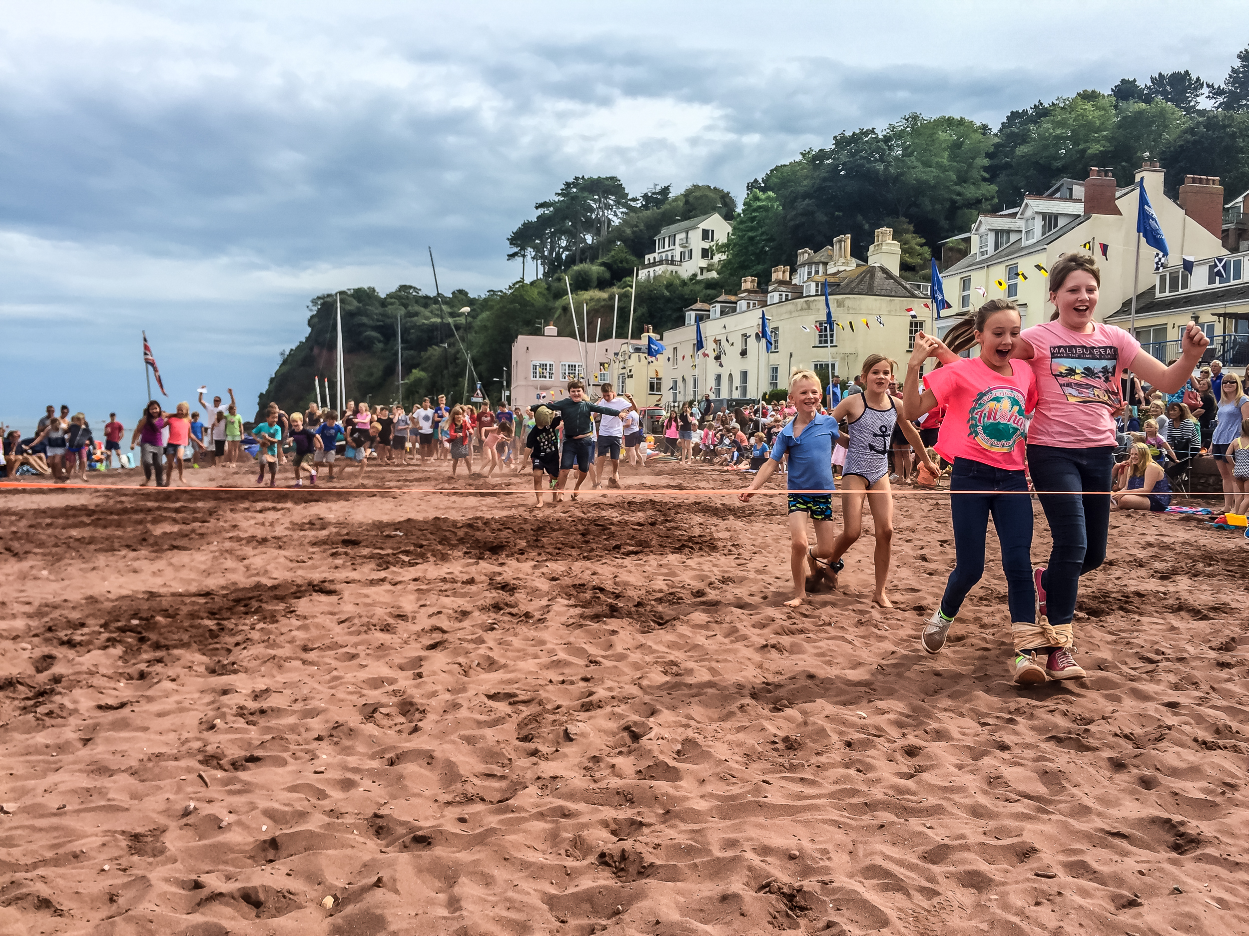 Beach sports - Always entertaining to watch and equally fun to take part, a variety of beach sports from the traditional three legged and egg and spoon race to the wife or partner carrying race! There's races for everyone from the under three year old to the grandparents!
