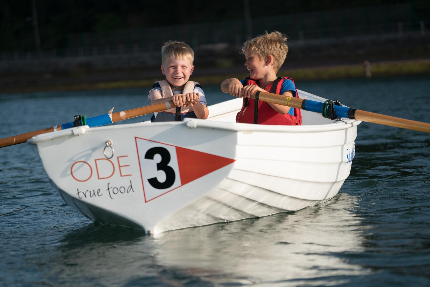 Junior rowing - We run eight sessions in the lead up to the Regatta so  any child six years and over can come and learn to row in a fun but safe environment. All equipment is provided including boats, oars, gates and life jackets. Children are teamed with an experienced cox who shows them the ropes. Register on Shaldon Beach by the Ferry Shelter at 6pm each week. £1 per child per session. Come along and give it a go! Click here for more information.