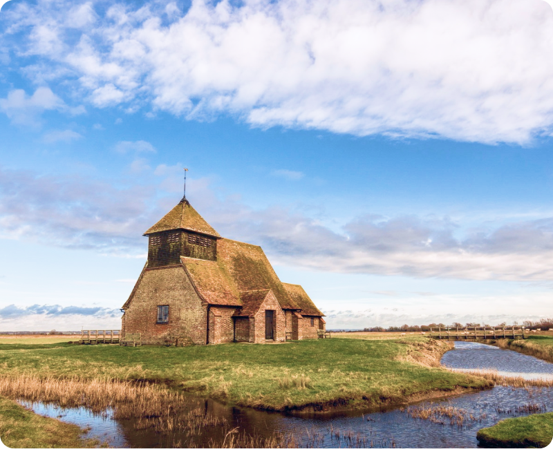 Ancient Churches and Villages - A landscape steeped in architectural history