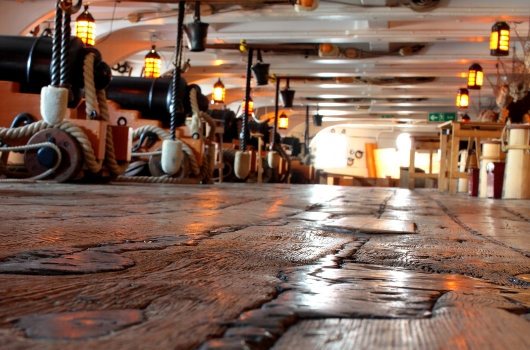 Elm and Oak were used in the restoration of HMS Victory