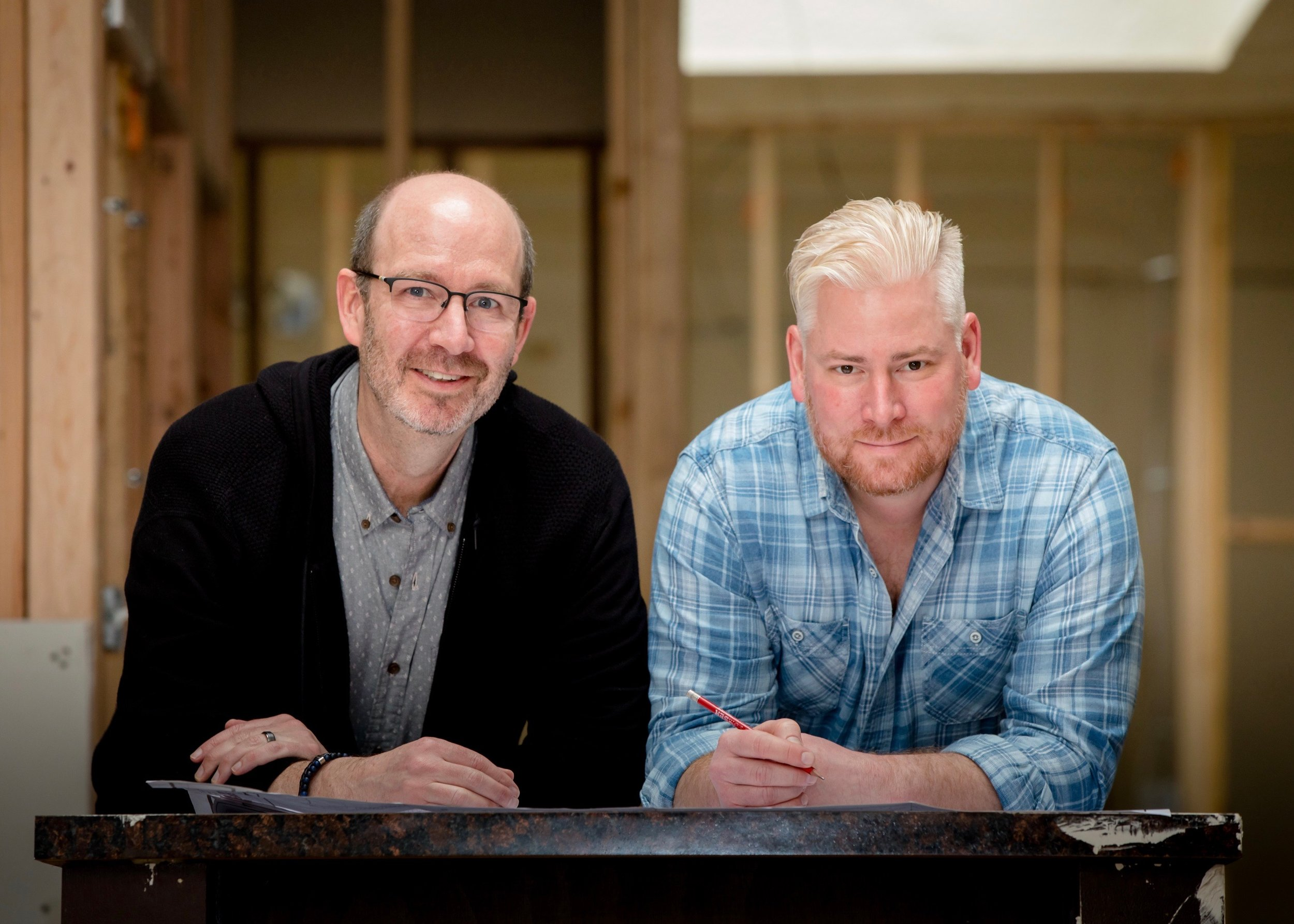 Meet Your Booksellers - READS & COMPANY is a partnership between ROBB CADIGAN (left) and JASON HAFER (right), two friends who share extensive experience in retailing, marketing, and a lifelong passion for books and community