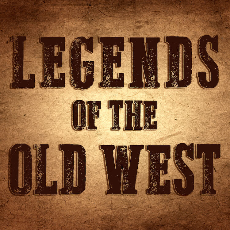 Legends of the Old West podcast logo