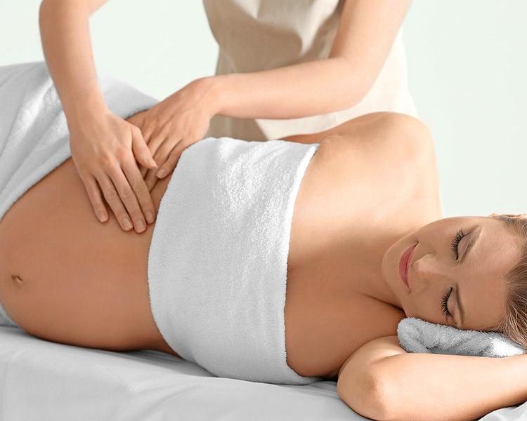 Massage femme enceinte - Massothérapie Zeina Raya