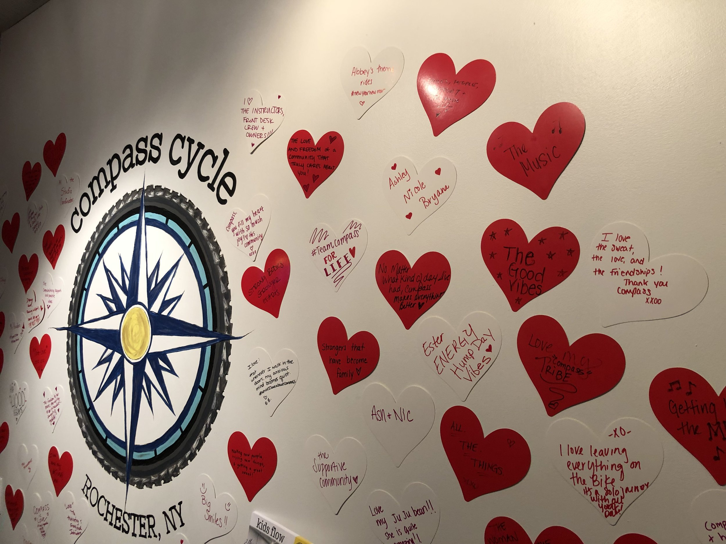 Feeling the love for Compass